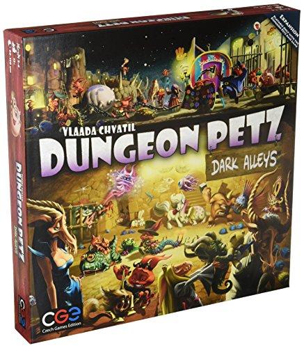 Czech Games Edition CGE00024 Nein Dungeon Petz: Dark Alleys, Spiel