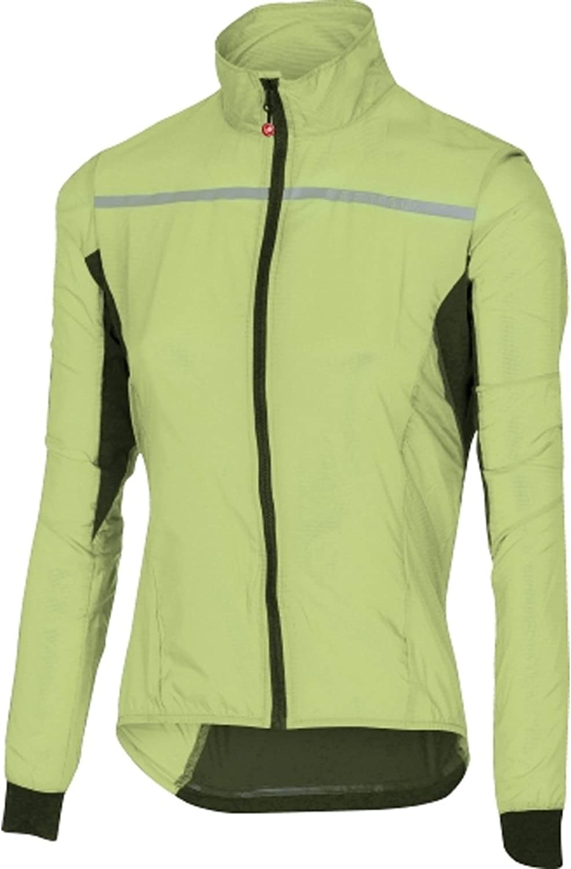 Castelli Women's Superleggera Jacket  Sunny Lime