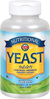 KAL Nutritional Yeast, 250 Count