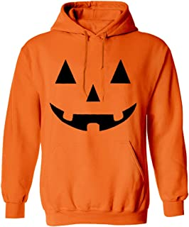 Arvilhill Men's Halloween Costume Funny Jack O' Lantern Pumpkin Hoodies Sweatshirt