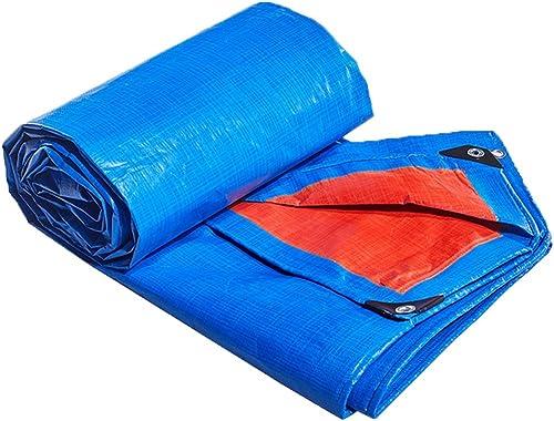 ZHOU LI Bache légère imperméable Bleue, Couverture de Couverture de bache de Toit de Jardin, Nappe moulue