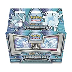 SLICE THROUGH ICE & SNOW WITH ALOLAN SANDSLASH – Alolan Sandslash's steel spikes are sheathed in ice, which can cause deep wounds and severe frostbite. FREEZE YOUR OPPONENTS WITH ALOLAN NINETALES – Alolan Ninetales creates drops of ice in its coat an...
