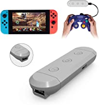 Joytorn Wireless Adapter Bluetooth Converter for Nintendo Switch,Super Smash Bros Compatible with Gamecube/Wii/NES/SNES Classic Wire Controllers for Nintendo Switch and PC