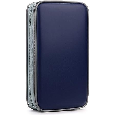 Storage,Holder,Booklet 80 Capacity CD//DVD Case Wallet Black