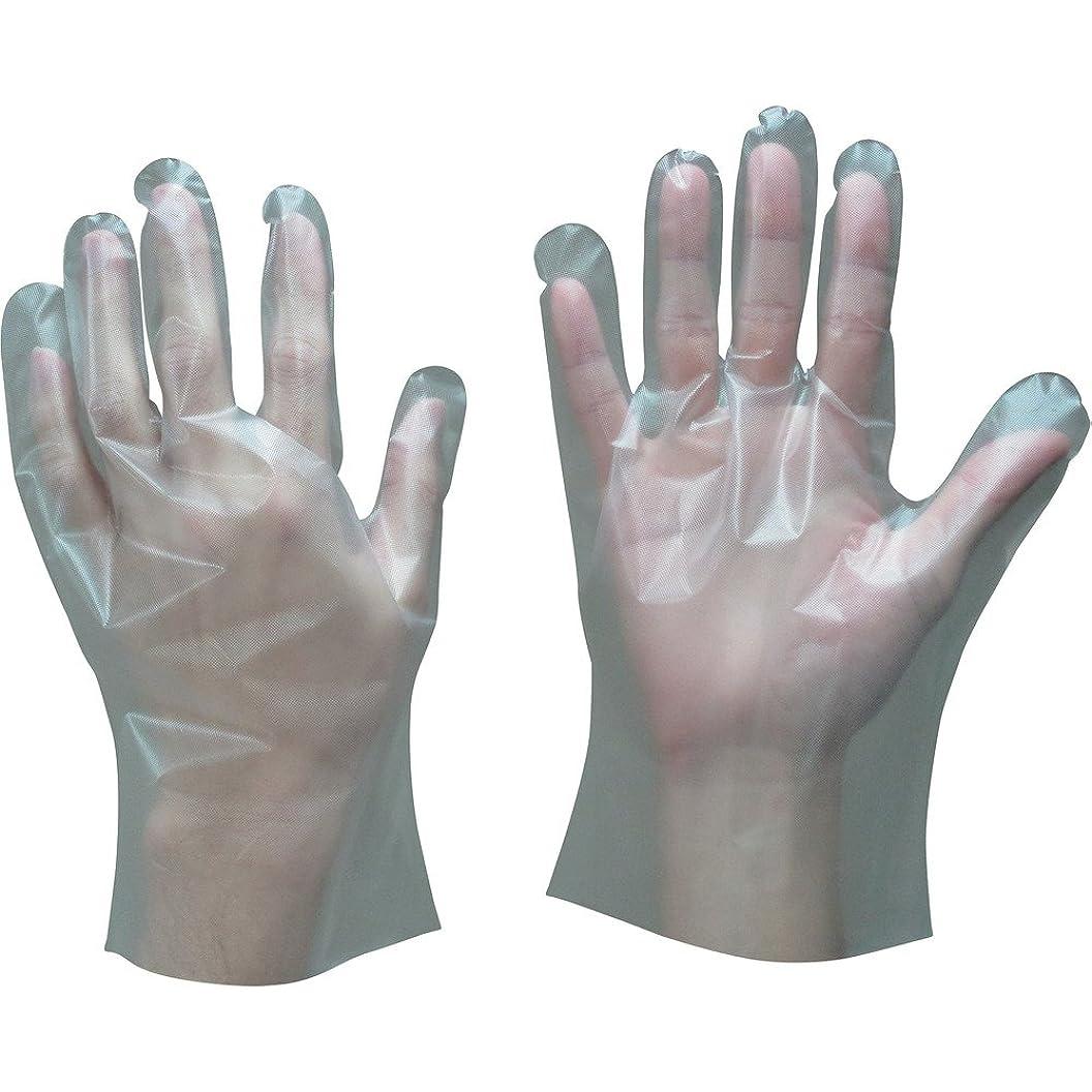 役員避難大西洋トワロン ポリエチレン手袋内エンボス(100枚入) L 409-L ポリエチレン使い捨て手袋
