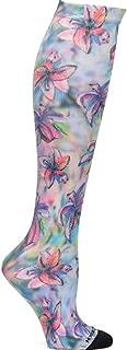 Women's Linda Altshuler 12-14 Mmhg Compression Socks Orchid