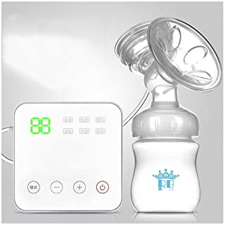 Ultra-Quiet Milk Pump Smart Breastfeeding Pump Portable Nursing Breast Massager Electric Breast Pump 6 Modes 15 Levels Adj...