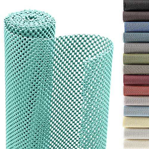 Smart Design Shelf Liner Premium Grip - (12 Inch x 20 Feet) - Drawer Cabinet Non Adhesive - Kitchen [Mint]
