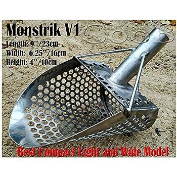COSTUM 3 QUART PLASTIC SAND SCOOP PROFFECIONAL MADE.© METAL DETECTOR
