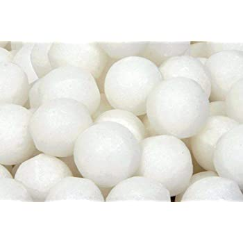 Smile N Style Essentials - 1Kg White Napthalene Balls with Pure Quality