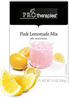 High Protein Crystal Drink Mix 15g - Pink Lemonade, Low Carb Nutritional Supplement Crystal Protein Pods (7 Servings/Pack)