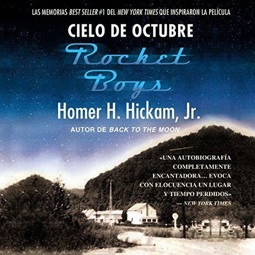 Cielo de octubre [Rocket Boys] audiobook cover art