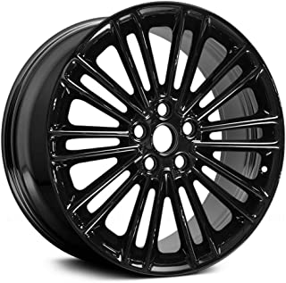 Replacement For Ford Fusion 13-17 Alloy Factory Wheel 18x8 10 Double-Spoke All Painted Gloss