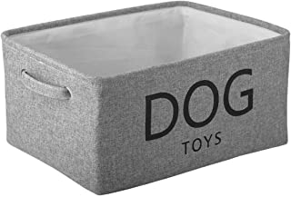 Morezi Boîte à jouets pour animaux en toile Pliable,Idéal pour organiser jouets pour chien, vêtements pour chien,fournitur...