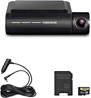 Thinkware F800 Pro Dash Cam Full HD 1080P Sony Starvis Super Night Vision | Cigarette Power Cable and 32GB MicroSD Card Included | Built in Wi-Fi and GPS | Optional Parking Mode with Impact and Motion