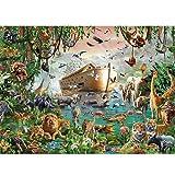 Puzle Hong Kong auténtico 4000 piezas duras arca de Noé Animal World Adultos de Madera 86 x 118 cm p331