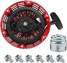 Mannial Recoil Starter with Start Cup fit Honda GX120 GX160 GX200 4/5.5/6.5hp Engine Motor Replace # 28400-ZE1-003ZF 28400-ZH8-013YA