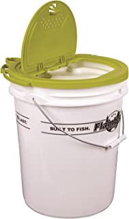 Flambeau Outdoors 6064BC 5 Gal. Insulated Bait Bucket with Premium Lid