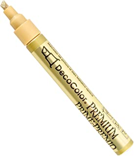 Uchida of America 350-CGLD DecoColor Premium 3 Way Chisel Point Pen, Gold