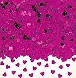 Falksson INT37009-16 Einfarbige Herzchen - Confeti