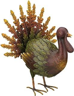 metal turkey yard art