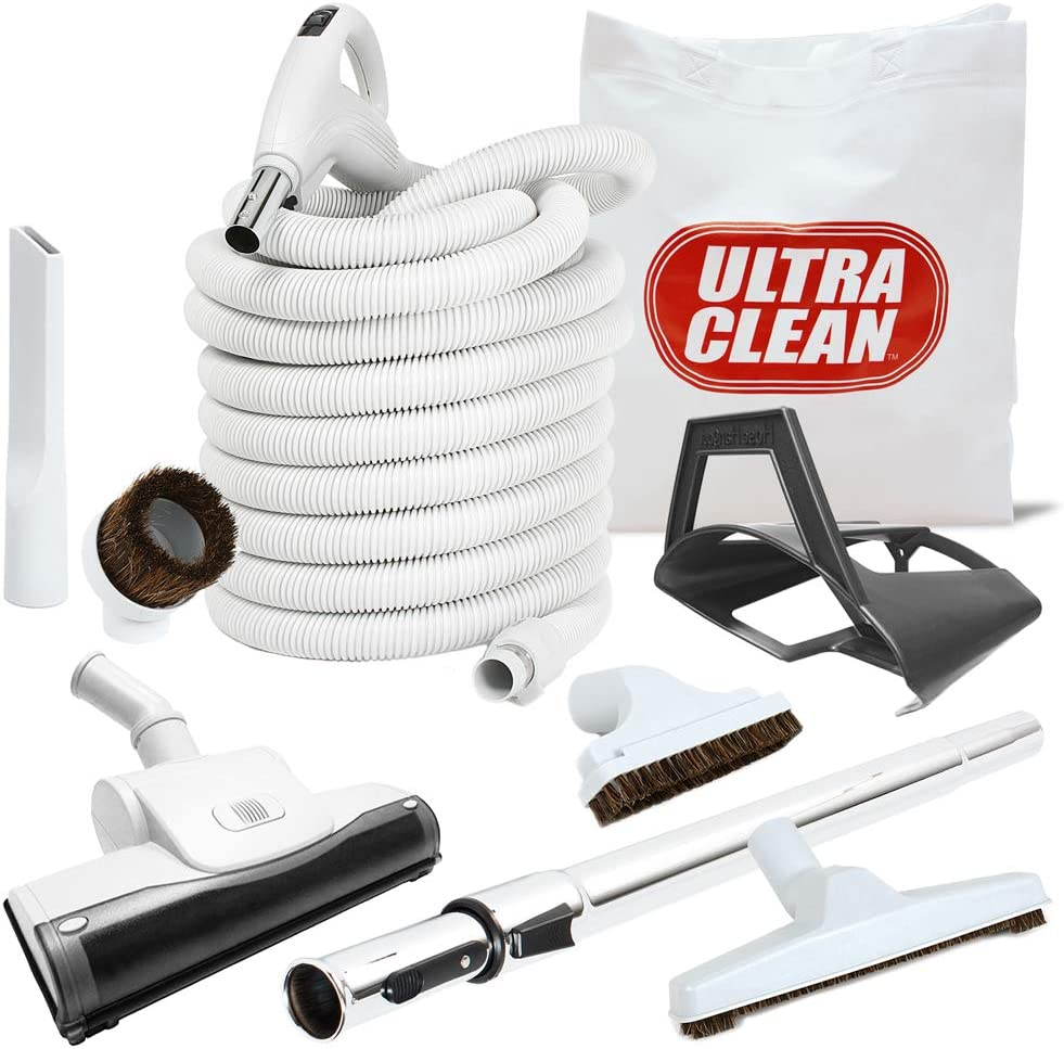 Ultra Clean Central Vacuum Straight Limited time cheap sale Air 30' VAC Attachment Popular overseas Set