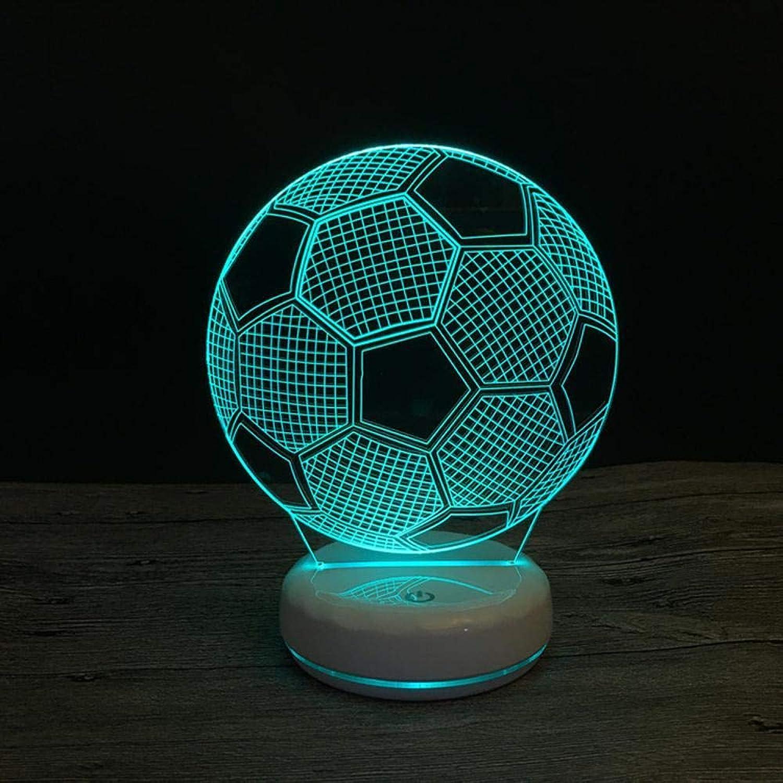Tcaijing Nachtlicht LED Nachtlicht,Weihnachts-3D-Dekoration bunte Touch Nachtlicht Porzellan weien Sockel
