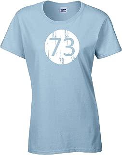Big Bang Theory 73 Ladies Junior Fit T-Shirt