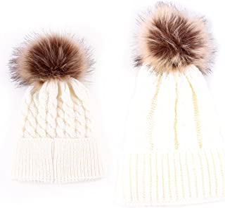 60cb98814b6 oenbopo 2PCS Parent-Child Hat Warmer