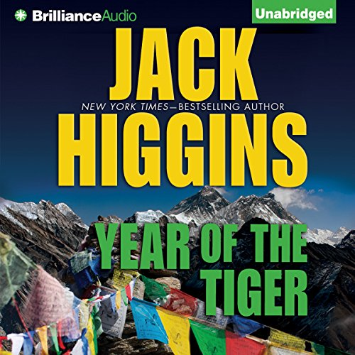 Year of the Tiger audiobook cover art