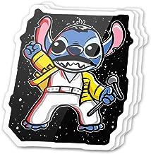 Kachi Art Cool Sticker (3 pcs/Pack,3x4 inch) Space Rhapsody Cute Fictional Character Cartoon Stickers for Water Bottles,Laptop,Phone,Teachers,Hydro Flasks,Car