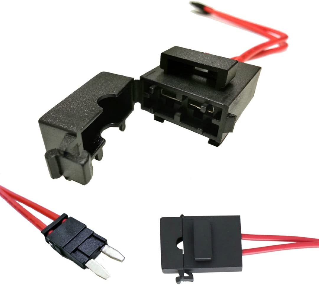 Amazon.com: Specialized ECU Repair Car Fuse Holder Connector - Mini ATM,  32V, 20 Amp, 16 Gauge, Red Wire Cable - Comfortably Tap and Test Automotive  Circuits, Perfect for Hard To Reach Fusebox | Adapter For Automotive Fuse Box |  | Amazon
