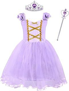 Niñas Princesa Sofía Vestirse Vestidos de Fiesta de Disfraces para niños Vestir Fiesta Halloween Cumpleaños Halloween Vestir Vestir de Noche