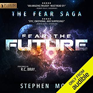 Page de couverture de Fear the Future