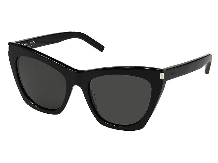 Saint Laurent SL 214 Kate (Black) Fashion Sunglasses