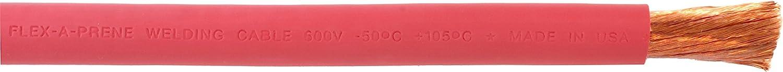 1 0 Gauge AWG Import - Flex-A-Prene Ultra-Cheap Deals Cable 600 Welding Red Battery