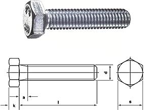 Eisenwaren2000 Sechskantschrauben mit Gewinde bis Kopf M12 x 25 mm - DIN 933 Edelstahl A2 V2A ISO 4017 Sechskant Schrauben rostfrei 30 St/ück Vollgewinde Gewindeschrauben