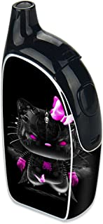 Skin Decal Vinyl Wrap for Joyetech Autopack Penguin Vape stickers skins cover/ cute Kitty in black