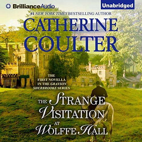 The Strange Visitation at Wolffe Hall audiobook cover art