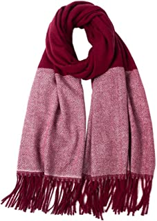 Scarf Tassel Winter Women Wild Warm Shawl 210cm*70cm,Perfect Accent to Any Outfit (Color : 08, Size : 210cm*70cm)