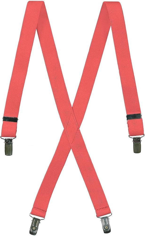 Tuxgear Mens Formal Adjustable X-Back Clip On Suspenders