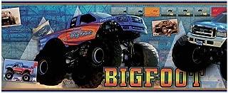 12 Inch Wide Bigfoot Ford Truck Monster Truck Mural Wallpaper Border