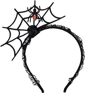 Halloween Spider Web Headband Spider Web Hairhoop for Cosplay