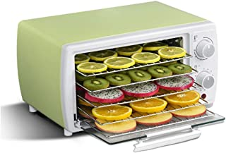 YUNTAO Food dehydrator, Temperature Controlled Food Dehydrator, 5 Layer Stainless Steel Tray with Timed Setting for Making...