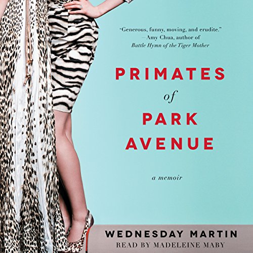 Primates of Park Avenue audiobook cover art