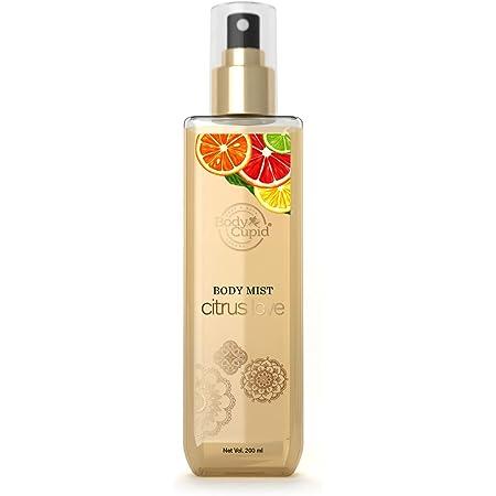 Body Cupid Citrus Love Body Mist - Warm & Cheerful Fragrance - 200mL