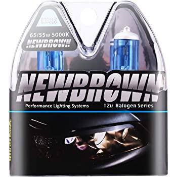 8500k Super White High Performance Xenon and HID Equivalent Pack of 2 Also Fits HB5 SUPERSTAR 9007 Long Lasting Halogen Headlight Bulb