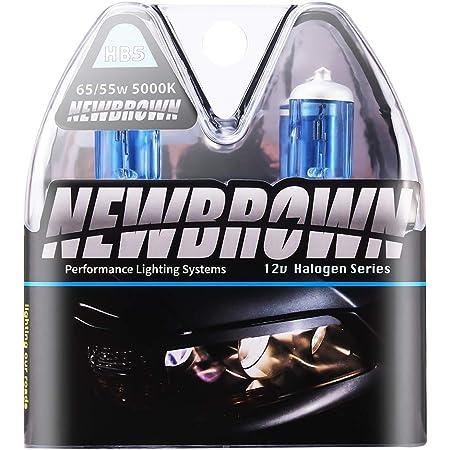 Combo 2 Pair 9007-HB5 White 100w Xenon Halogen Headlight Bulb #c7 High//Low Beam