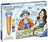 Ravensburger tiptoi CREATE Starter-Set 00805: Stift und Weltreise-Buch - Kreativ-Buch für Kinder ab...