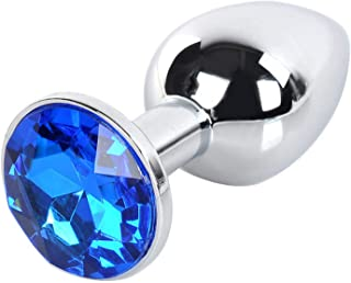 AN-AL-AU-TYM4245 Metal Âna④l Plug Butt 75X28Mm Booty Beads Stainless Steel Crystal Jewelry Design For Men Products